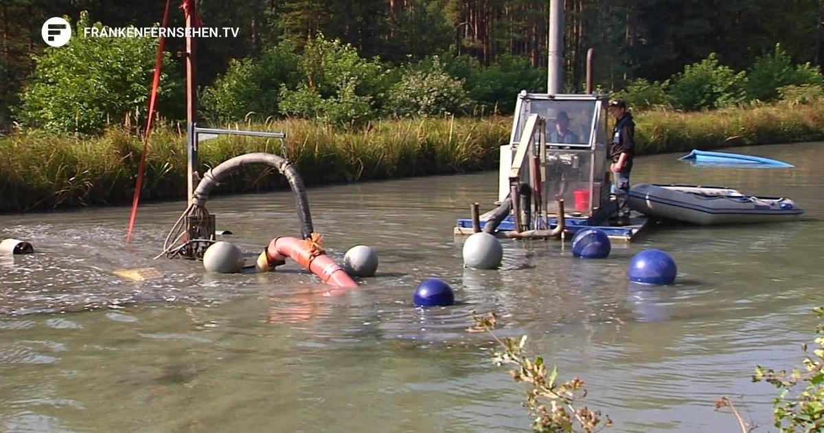 Nessie in Franken – Dieses Monstrum saugt den Alten Kanal sauber