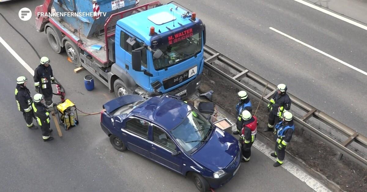 Südwesttangente Unfall