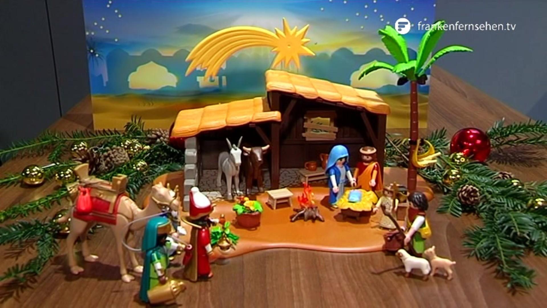 Playmobil Weihnachtskrippe.Playmobil So Entstehen Die Weihnachtskrippen Franken