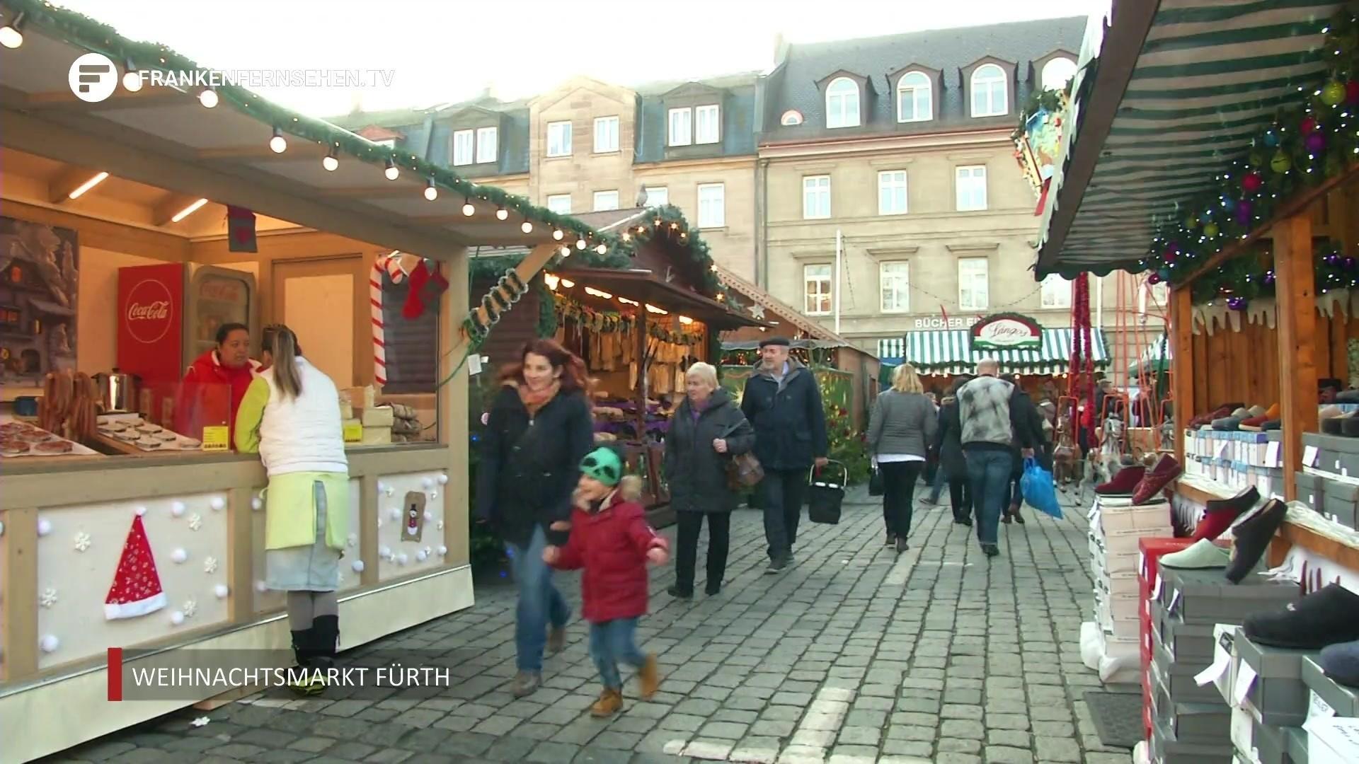 Weihnachtsmarkt Fürth.Impressionen Vom Fürther Weihnachtsmarkt Franken Fernsehen