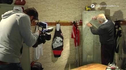 Sportlegenden Volkert und Porwik im Studio