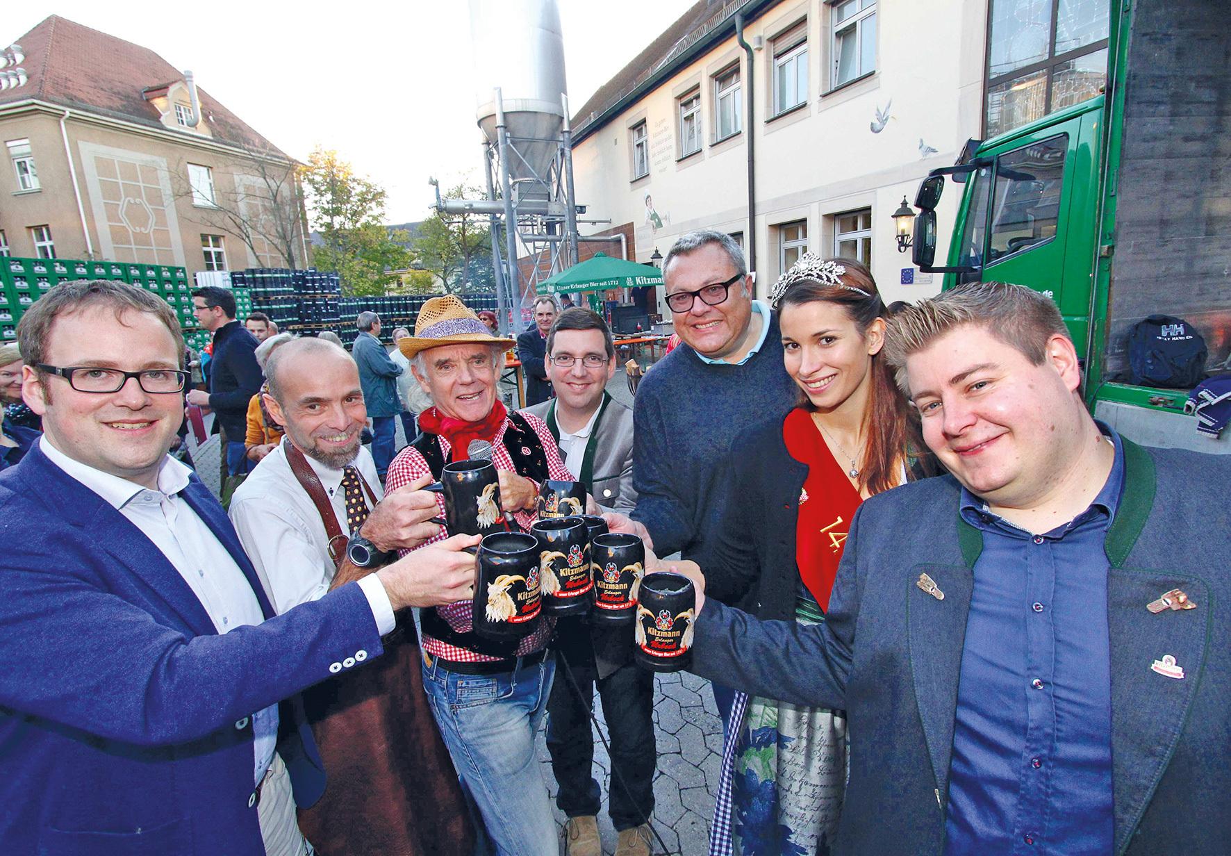 Bockbieranstich im Kitzmann Brauereihof eröffnet Winterbiersaison ...