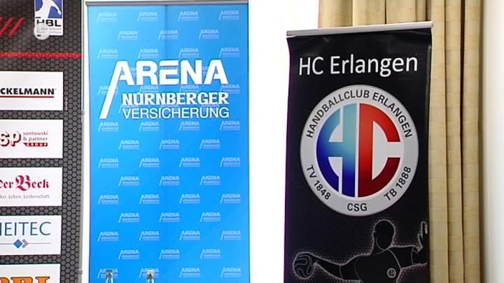 Hc Erlangen Umzug In Die Nurnberger Arena Franken Fernsehen