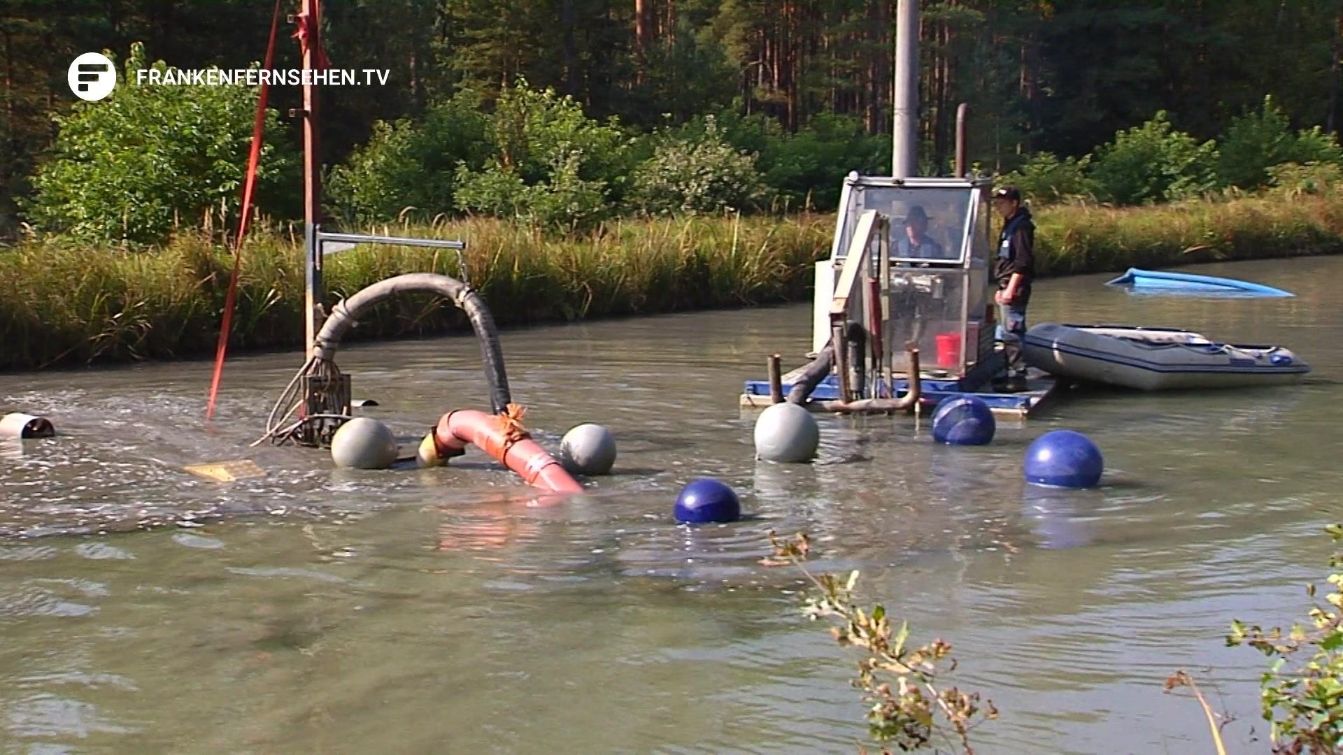 Nessie in Franken – Dieses Monstrum saugt den Alten Kanal sauber ...